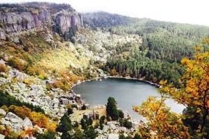 Vista de la Laguna Negra