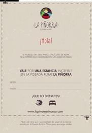 Vale Regalo La Piñorra