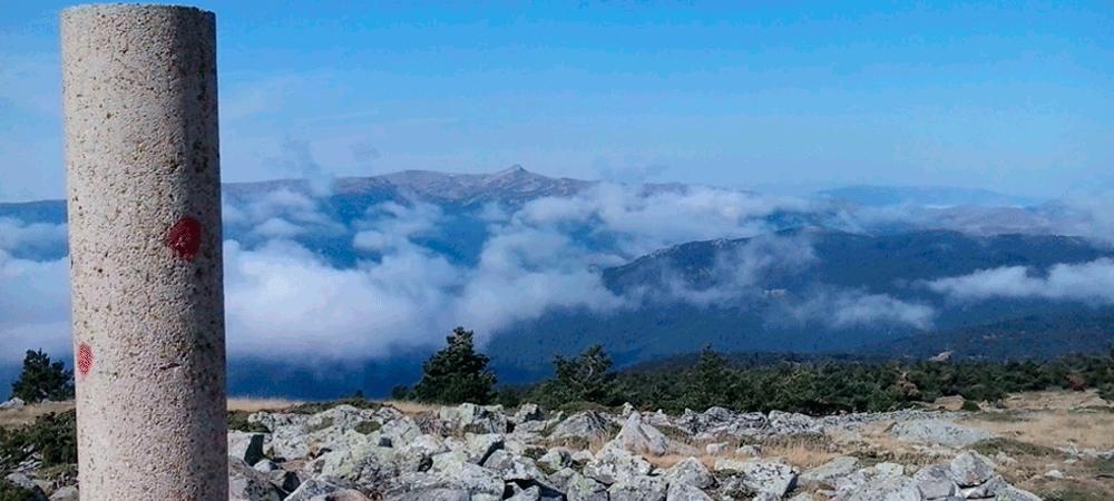 ruta de senderismo en la zona soriana de Pinares.