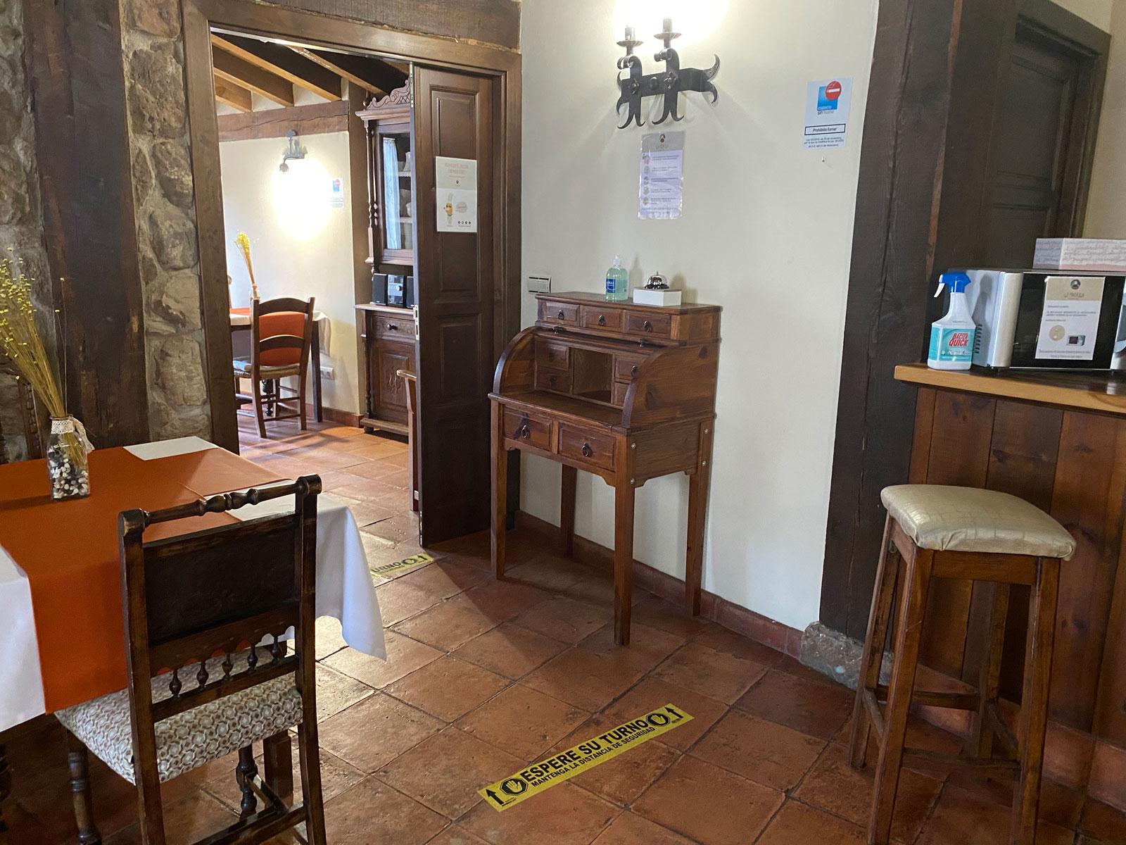 Medidas de seguridad Posada Rural La Piñorra de Vinuesa